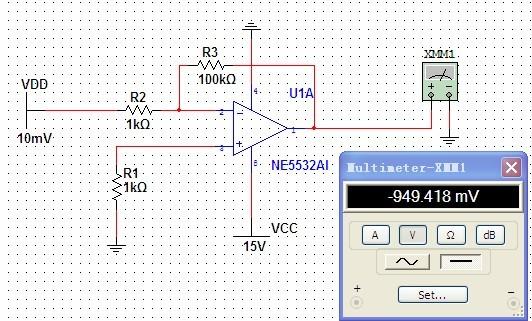 我听说lm358是单电源运放,ne5532是双电源运放,但是最近我仿真一下