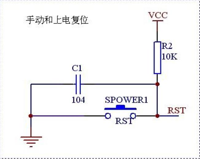 手动复位和自动复位电路原理