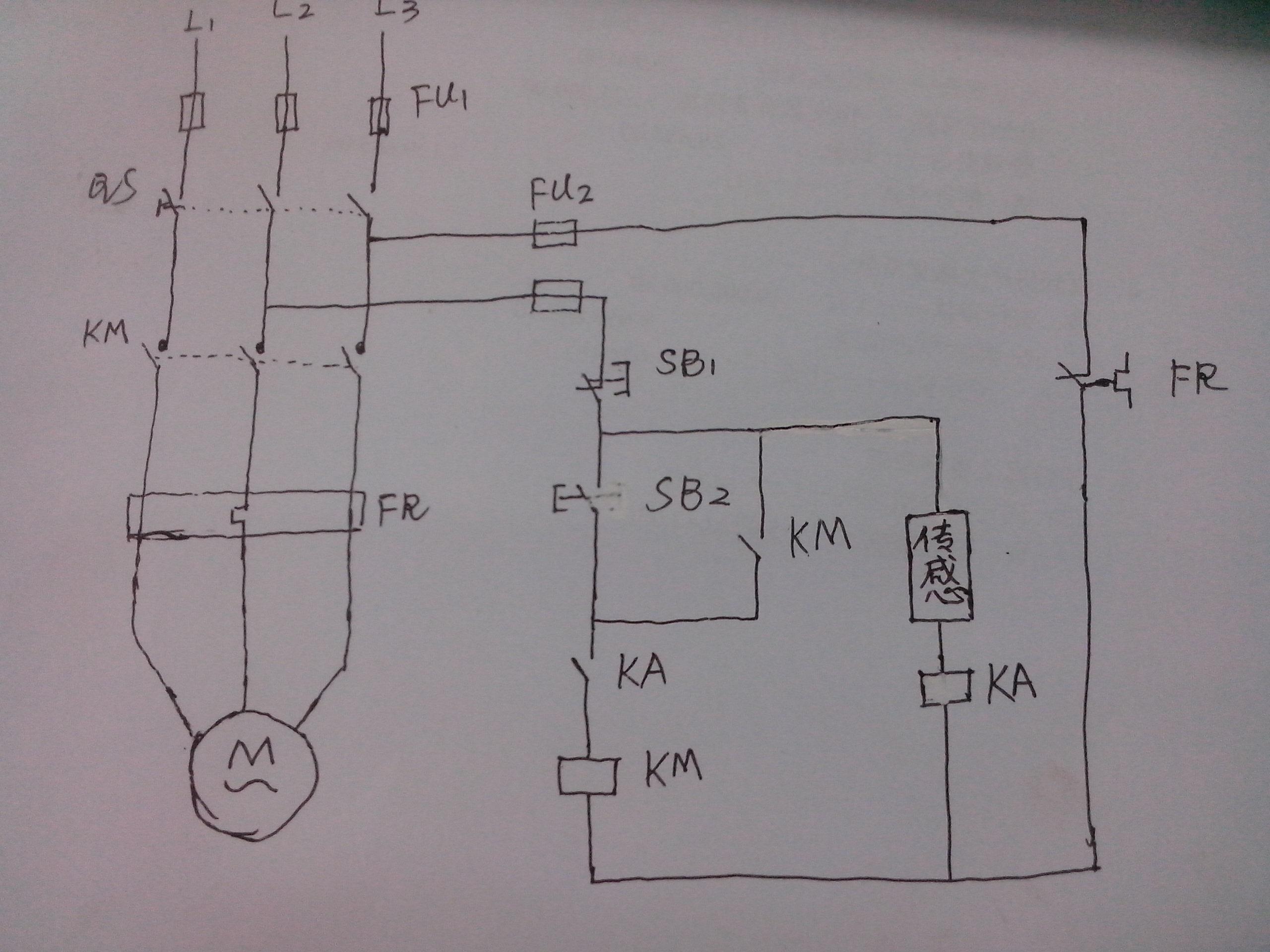 14针继电器接线图