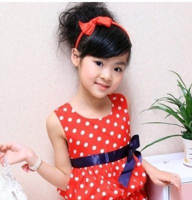 两岁以内的小女孩留什么发型好看?图片