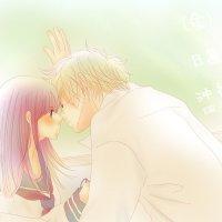 卡通情侣拥抱头像_求动漫情侣拥抱,最好是拥吻的图片