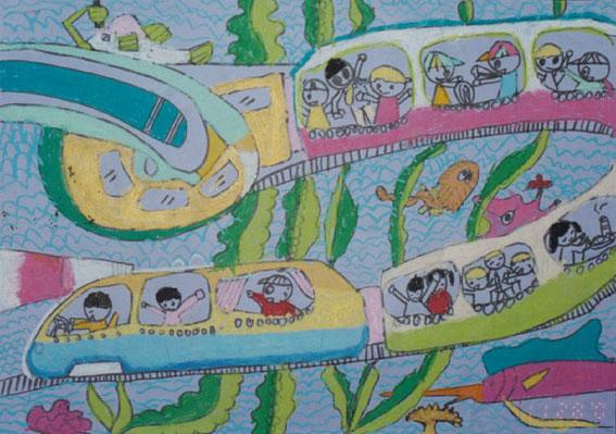 跪求幼儿园6岁孩子获奖美术作品,谁能给我粘贴上就更感谢啦.
