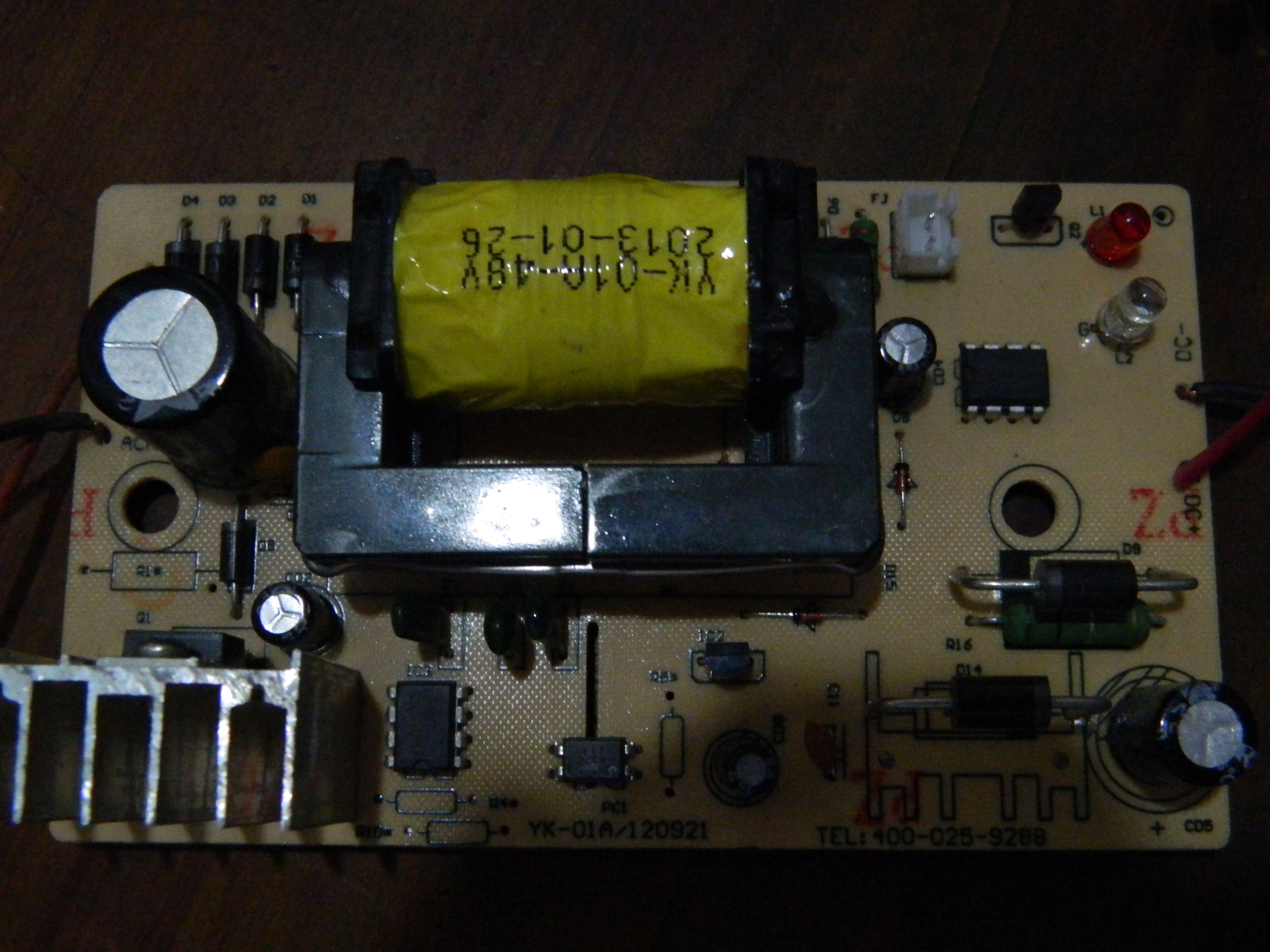 电瓶车充电器正负极接反了致使充电器坏了,该如何修理