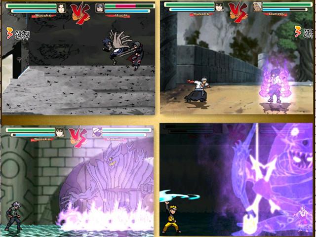 跪求这四个火影忍者游戏:忍界2,忍界3,激战忍界,忍界大战,那个人物最
