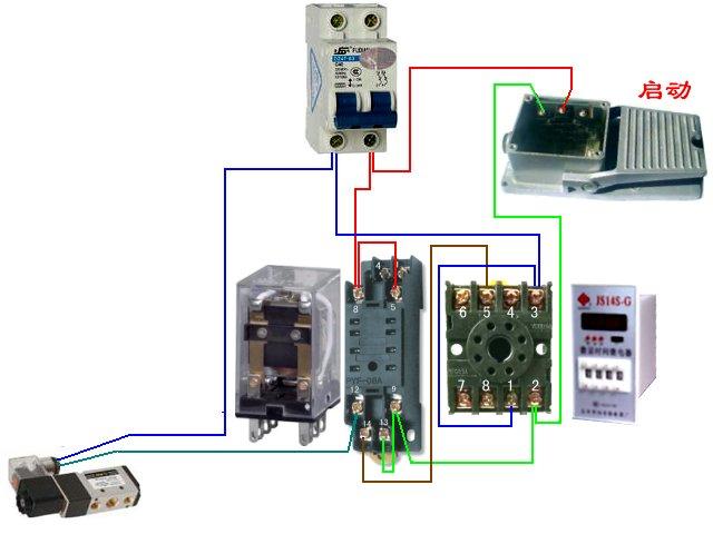 向ta提问私信ta  展开全部 不应是 中间继电器,个人认为是 接触器.
