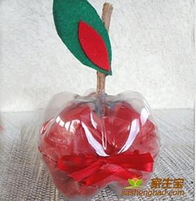 怎样手工制作一个苹果装饰品