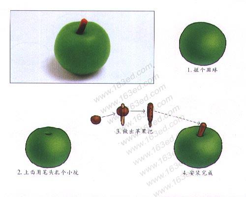 立体水果手工制作步骤