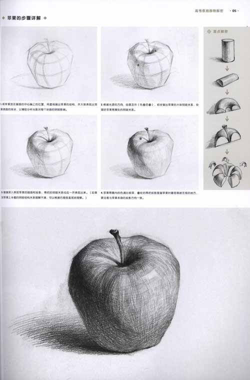 谁会画素描.可以发一些素描图看一下吗.不要太简单的素描结构几何.图片