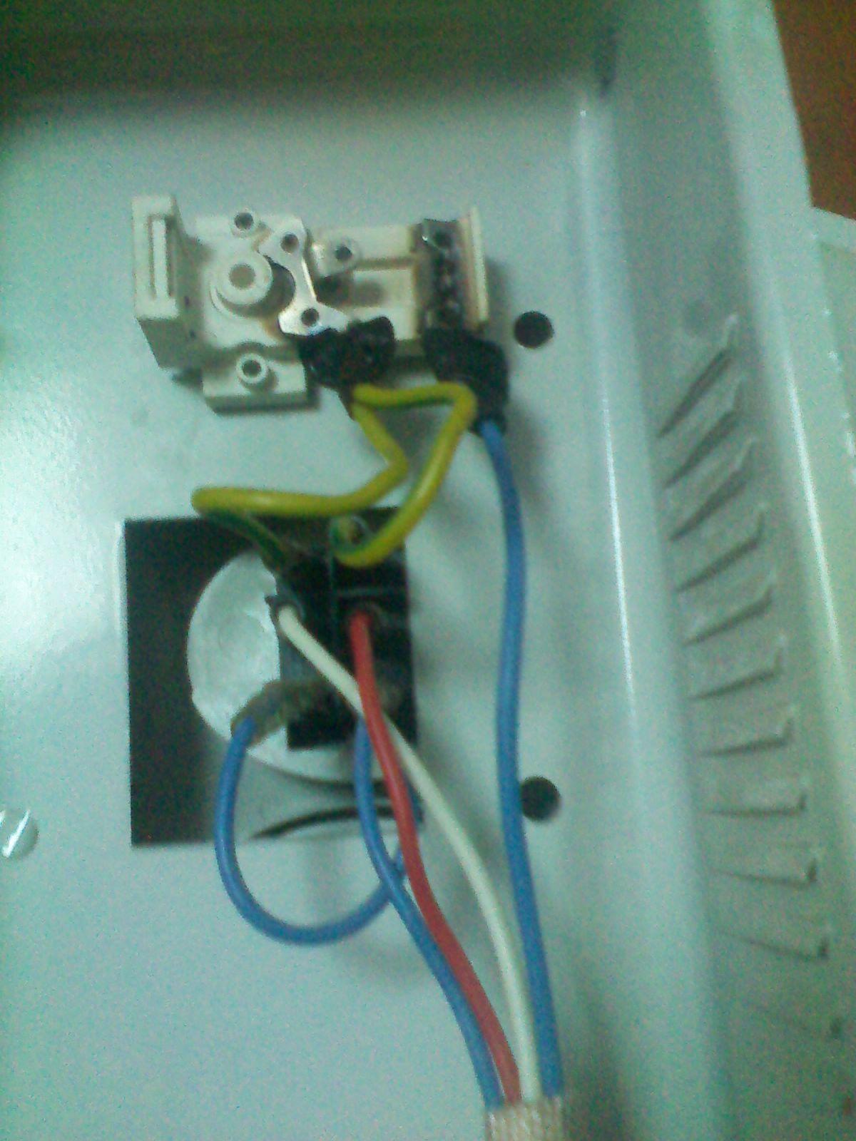 电暖气开关坏了 怎么接?