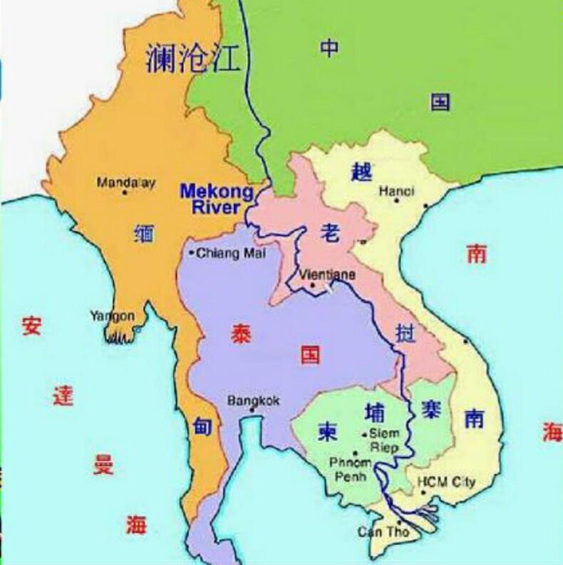 东南亚国家_与我国所临的东南亚国家
