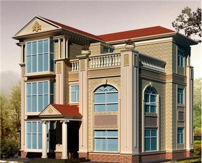 别墅一样的,求一套简约的,两层楼约一百多平的样子,平屋面最好
