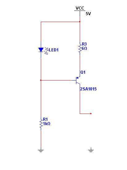 一个是运放的,一个三极管的,三极管我用了pnp的,因为这种电路的输出