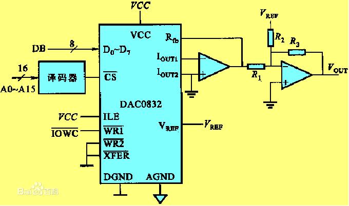 数字量直流输出电路
