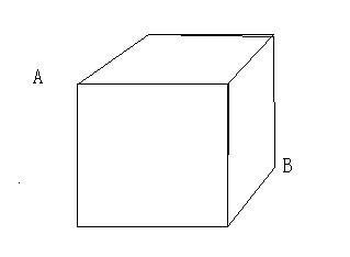 有一个正方体盒子,一只虫子在顶点a处,一只蜘蛛在顶点图片