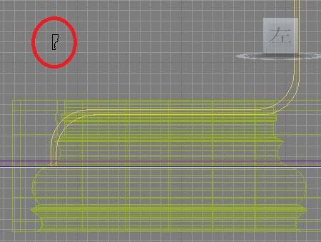 3dmax做石膏线,放样获取图形后得到的石膏线很肥大,不图片