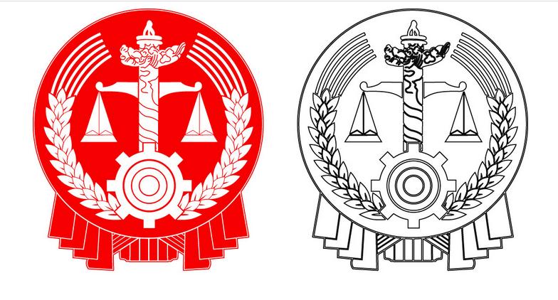中国法院门口的标志和象征的意义图片