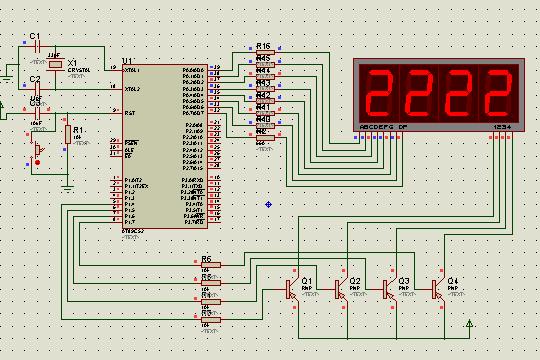 stc89c51小系统电路图