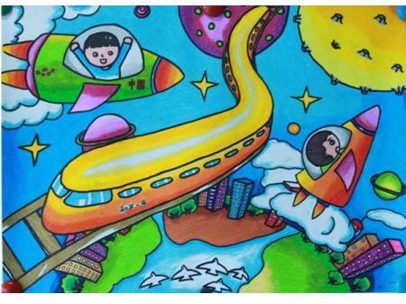 简笔画《中国梦,我的梦》
