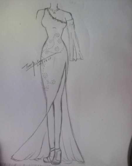 谁有礼服的设计图?