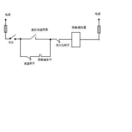 请教高手关于电热水器的控制电路图