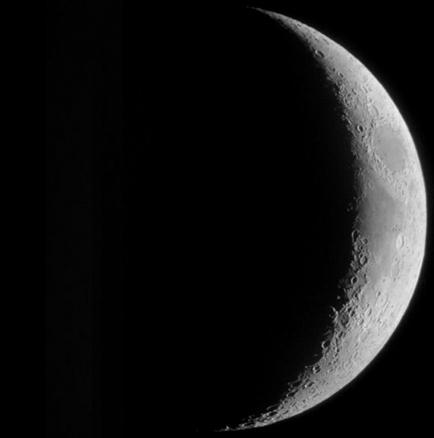 九月二十九日~十月三日的月亮形状图片