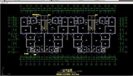 求《房屋建筑学》课程设计的cad图纸!用来临摹的.图片