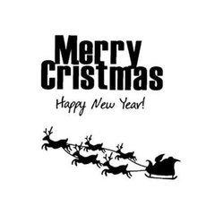 圣诞快乐英文艺术字容易写得