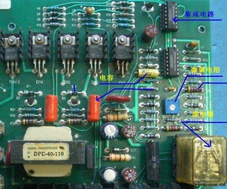 展开全部 你好,以下电路板图片中是我们工作中经常用到的器件,标注