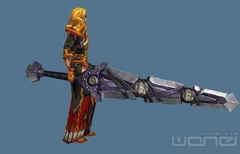 魔兽有个挺大的双手剑叫什么