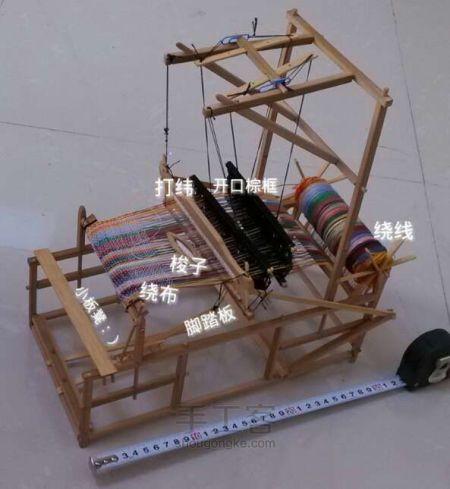 旧式织布机结构及工作原理图片