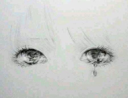 谁有流泪的眼睛的唯美图?麻烦发我几张.要睁大眼睛的
