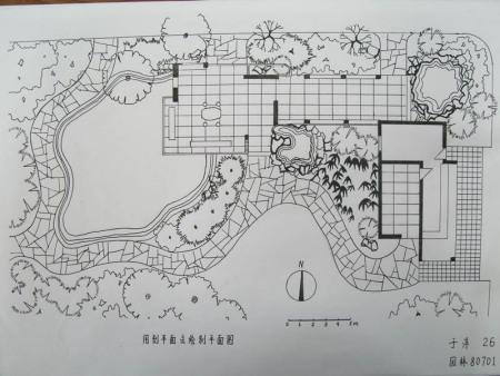 独立住宅的总平面怎么画