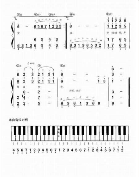 求天路钢琴伴奏谱,最好简谱.