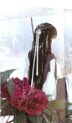 古風的撐傘少女,背影,簡單一些,不要太復雜.謝謝了.
