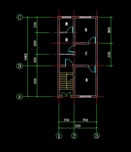 求房屋设计师帮忙设计一下房子结构