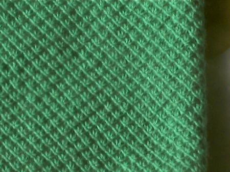 毛衣水草花织法的详细过程