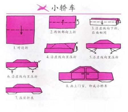 如何diy儿童手工制作小汽车方法图解
