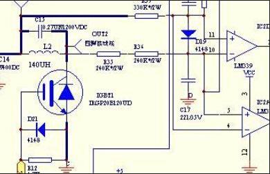 电磁炉的电路图