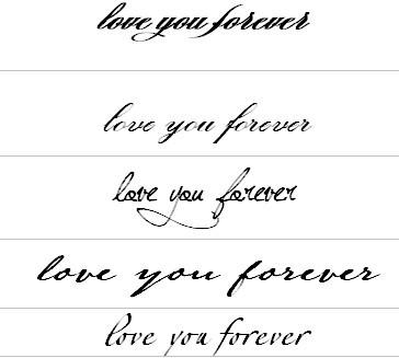 love you forever 怎么写才好看,又个性图片