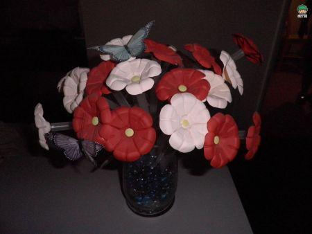 可乐瓶手工制作花朵大全步骤图解_百度图片搜索