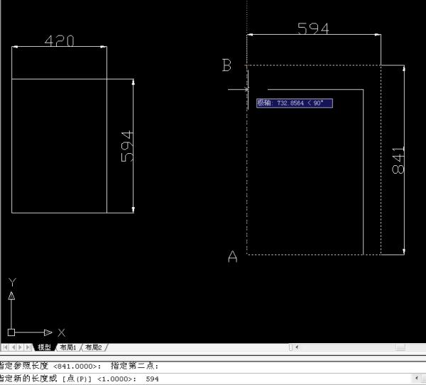 CAD图框A1缩小成A2_百度知道把怎么cad线白变图全部图片