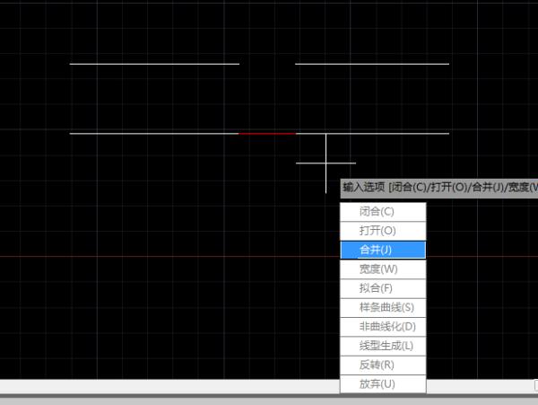 cad2014直线,两条断开的版本,用样的快捷cad面域视频图片