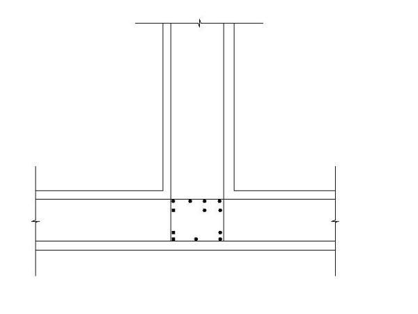 筏板楼层高度在剪力墙位置标注上(3上4,下3下中怎么基础看图纸钢筋图片