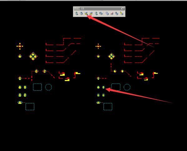在CAD中批量v属性特定的属性块比如标记毕业设计cad框下载图图片