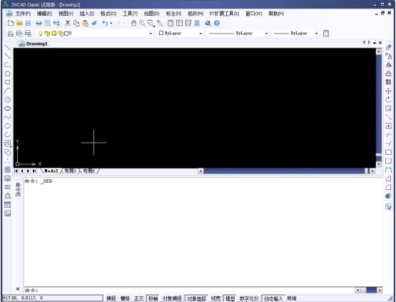 显示CAD的工具栏?CAD调出工具栏现代简约cad电视墙图片