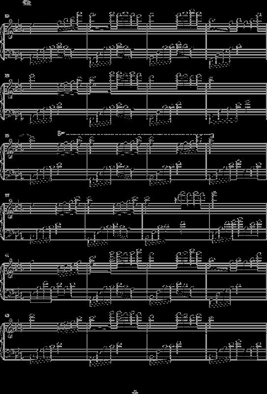 夜的钢琴曲谱