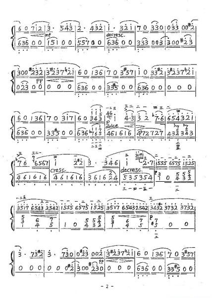求献给爱丽丝钢琴简谱要有左手的