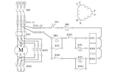 为什么星三角电机启动电流,不同接法,接触器电流不一样?