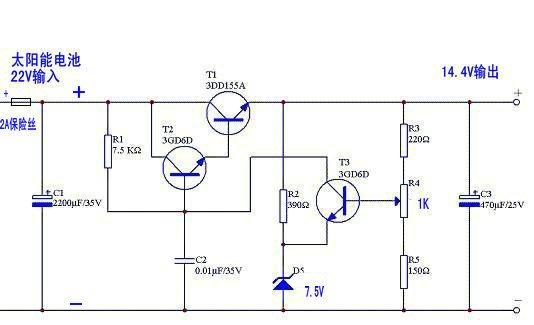 三极管稳压电路中稳压二极管的选用