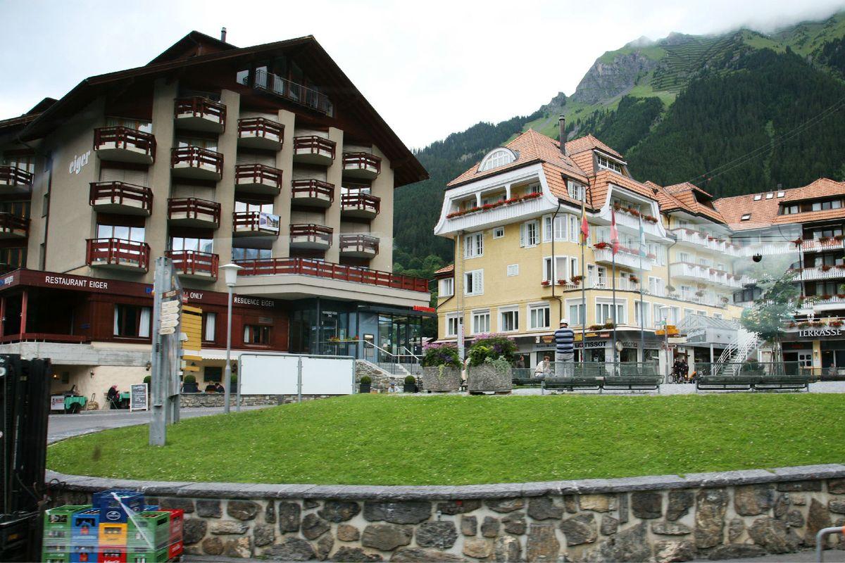 瑞士非常漂亮的建筑图片图片